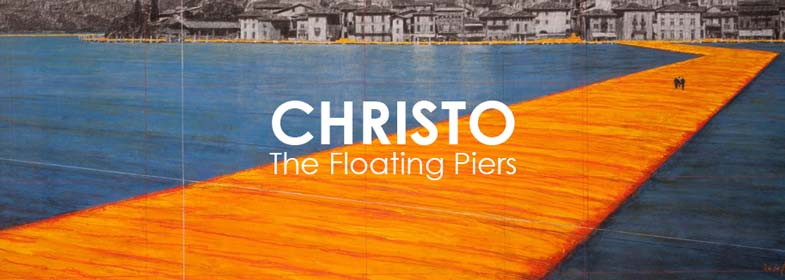 CHRISTO. THE FLOATING PIERS