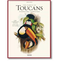 JOHN GOULD. THE FAMILY OF TOUCANS