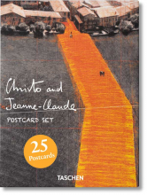 POSTCARDS/CARTOLINE CHRISTO AND JEANNE-CLAUDE