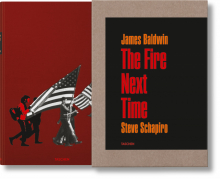 JAMES BALDWIN. THE FIRE NEXT TIME. PHOTOGRAPHS BY STEVE SCHAPIRO - edizione limitata