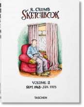 ROBERT CRUMB. SKETCHBOOK. VOL. 2: SEPT. 1968–JAN. 1975