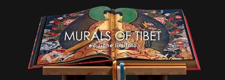 THOMAS LAIRD. MURALS OF TIBET - edizione limitata