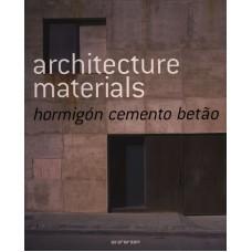 ARCHITECTURE MATERIALS : CEMENTO