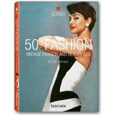 50'S FASHION -  VINTAGE FASHION AND BEAUTY ADS - OUTLET