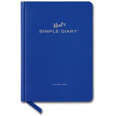 SIMPLE DIARY ROYAL BLUE - OUTLET