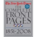 NEW YORK TIMES COMPLETE FRONT PAGES
