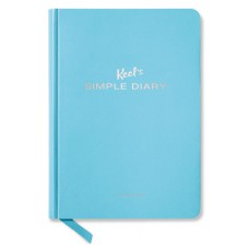 SIMPLE DIARY LIGHT BLUE