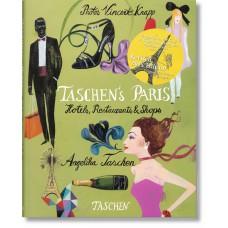 TASCHEN'S PARIS. HOTELS, RESTAURANTS & SHOPS - seconda edizione - OUTLET