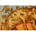 BESTIARIO MEXICANO - WAY CHIVO #1 - FINE ART PRINT