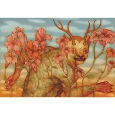 BESTIARIO MEXICANO - NAHUAL #1 - FINE ART PRINT