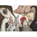 #SIAMOTUTTIANIMALI di Alessandra Manfredi - Illustrazione originale