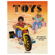 JIM HEIMANN. TOYS. 100 YEARS OFF ALL-AMERICAN ADS