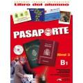 PASAPORTE 3 PACK LIBRO DEL ALUMNO + LIBRO DE EJERCICIOS + CD