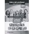 AULA DE GRÁMATICA. USO ESCOLAR A1 LIBRO PROF + CD