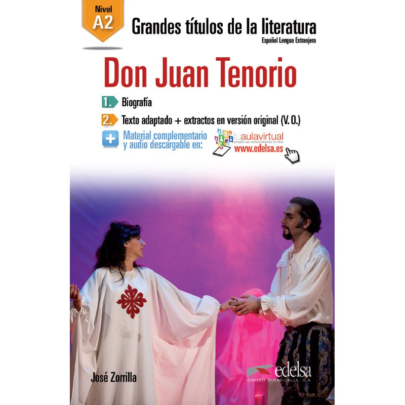 DON JUAN TENORIO/NIVEL A2 - Edelsa LDG
