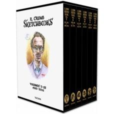 ROBERT CRUMB. THE SKETCHBOOKS 1982-2011 - edizione limitata