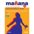 MANANA 2 LIBRO DEL ALUMNO Y EJERCICIOS + PORTFOLIO + CD AUDIO