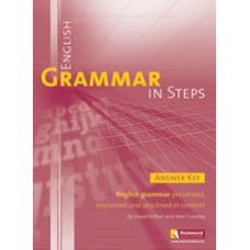 ENGLISH GRAMMAR IN STEPS - ANSWER KEY (BOOK)