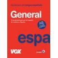 DICCIONARIO GENERAL DE LA LENGUA ESPAÑOLA + CD-ROM