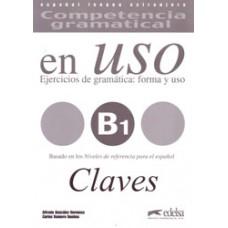EN USO B1 COMPETENCIA GRAMATICAL CLAVES