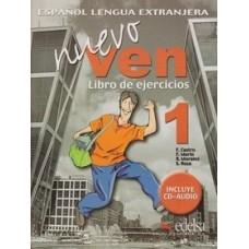 NUEVO VEN 1 LIBRO DE EJERCICIOS + CD