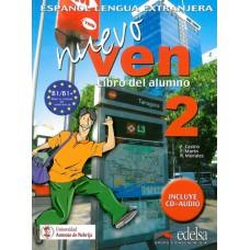 NUEVO VEN 2 LIBRO DEL ALUMNO+ CD