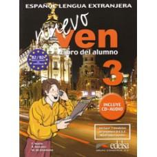NUEVO VEN 3 LIBRO DEL ALUMNO + CD
