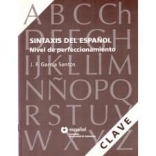 SINTAXIS DEL ESPAÑOL - CLAVES