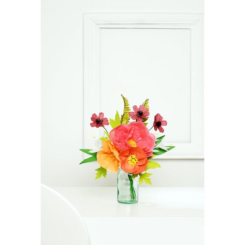 100 semplici fiori di carta logos for Fiori semplici