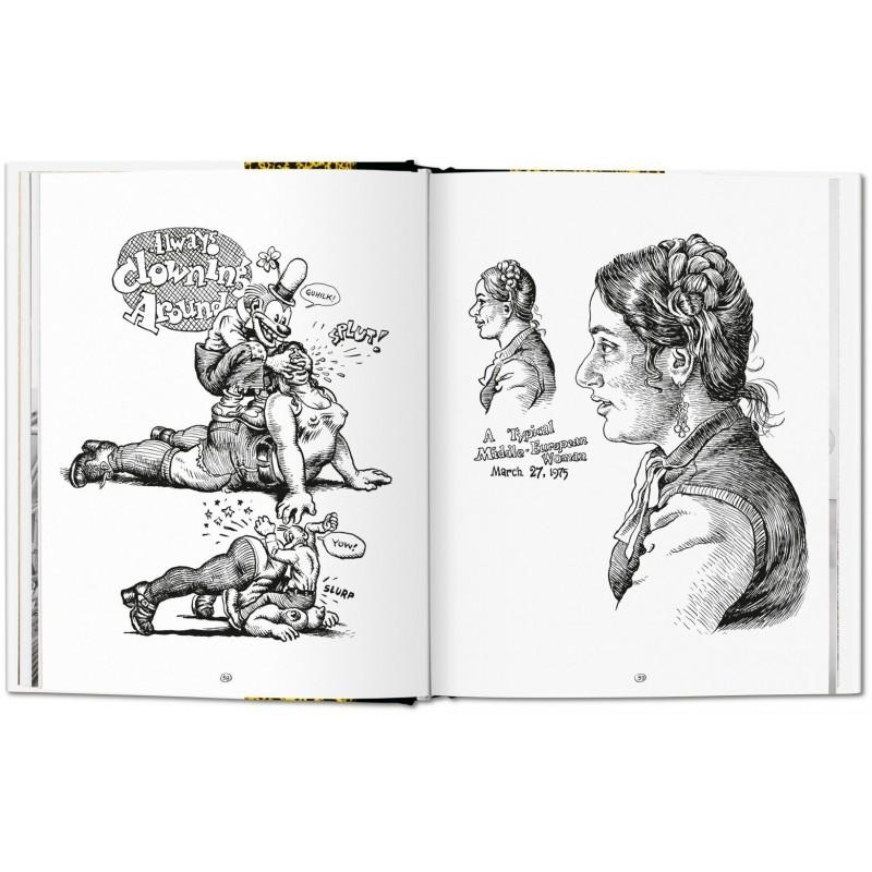 ROBERT CRUMB. SKETCHBOOK, VOL. 3: 1975–1982 - Taschen