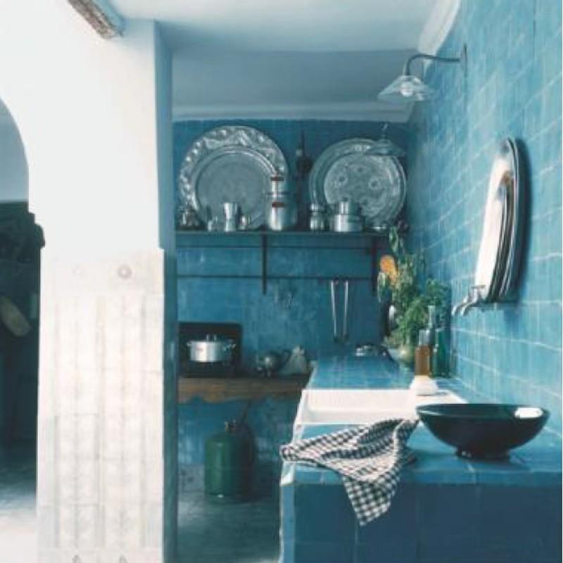 Stile etnico arredo e architettura - Arredo bagno stile etnico ...