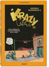 GEORGE HERRIMAN, THE COMPLETE KRAZY KAT IN COLOR 1935-1944